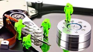 Восстановление данных с жёсткого диска в Москве